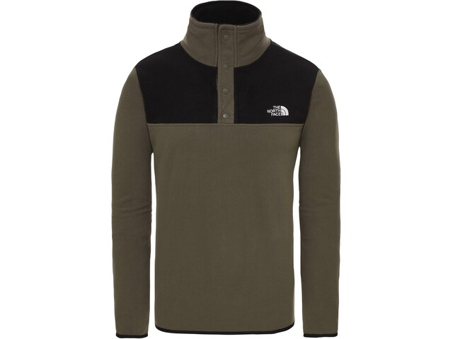 The North Face Tka Glacier Maglione con collo alto Uomo, new taupe green/tnf black